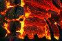 Пожар. Текстура горящего дерева. Фрагмент дома., фото № 264241, снято 1 ноября 2007 г. (c) Татьяна Белова / Фотобанк Лори