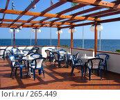 Интерьер ресторана на берегу моря (2008 год). Стоковое фото, фотограф Филипп Яндашевский / Фотобанк Лори