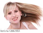 Купить «Улыбающаяся девушка», фото № 266553, снято 25 апреля 2007 г. (c) Гладских Татьяна / Фотобанк Лори
