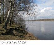 Купить «На берегу Волги», фото № 267129, снято 19 апреля 2008 г. (c) Георгий Ильин / Фотобанк Лори