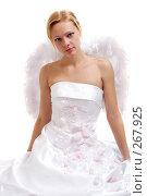 Купить «Невеста-ангел», фото № 267925, снято 3 октября 2007 г. (c) Ольга С. / Фотобанк Лори