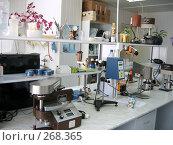 Химическая лаборатория. Стоковое фото, фотограф Вячеслав Паслёнов / Фотобанк Лори