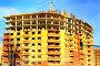Строительство многоэтажного дома, фото № 269329, снято 23 апреля 2008 г. (c) BestPhotoStudio / Фотобанк Лори