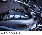 Купить «Харли-дэвидсон», фото № 270113, снято 2 мая 2008 г. (c) Дмитрий / Фотобанк Лори