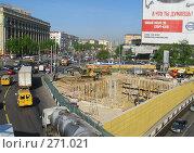 Купить «Москва. Реконструкция перекрестка на Соколе», эксклюзивное фото № 271021, снято 4 мая 2008 г. (c) Виктор Тараканов / Фотобанк Лори
