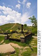 Купить «Аксайский военно-исторический музей. Танк Т-72», фото № 272077, снято 1 мая 2008 г. (c) Борис Панасюк / Фотобанк Лори