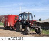 Купить «Механизация на ферме», эксклюзивное фото № 272289, снято 1 мая 2008 г. (c) Яков Филимонов / Фотобанк Лори