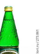 Купить «Бутылка с минеральной водой», фото № 273861, снято 5 мая 2008 г. (c) Михаил Котов / Фотобанк Лори
