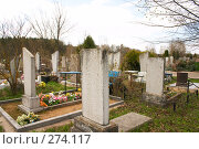 Купить «Кладбище», фото № 274117, снято 21 апреля 2008 г. (c) Куракевич Иван / Фотобанк Лори