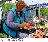 Купить «Колхозный рынок выходного дня», эксклюзивное фото № 275673, снято 1 мая 2008 г. (c) lana1501 / Фотобанк Лори