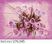 Купить «Букет тюльпанов», фото № 276045, снято 11 ноября 2006 г. (c) Юлия Севастьянова / Фотобанк Лори