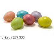 Купить «Пасхальные яйца», фото № 277533, снято 27 апреля 2008 г. (c) Сергей Васильев / Фотобанк Лори