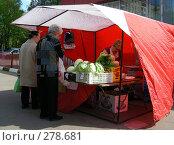 Купить «Рынок выходного дня, улица Сахалинская, район Гольяново, Москва», эксклюзивное фото № 278681, снято 1 мая 2008 г. (c) lana1501 / Фотобанк Лори