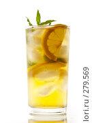 Мятный коктейль. Стоковое фото, фотограф Кравецкий Геннадий / Фотобанк Лори