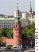 Купить «Башня Московского Кремля», фото № 280217, снято 8 мая 2008 г. (c) Антон Белицкий / Фотобанк Лори