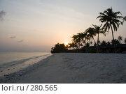 Купить «Восход на океанском побережье», фото № 280565, снято 19 сентября 2018 г. (c) SummeRain / Фотобанк Лори