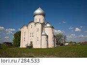 Купить «Великий Новгород. Церковь Спаса Преображения на Нередице», фото № 284533, снято 9 мая 2008 г. (c) Инга Лексина / Фотобанк Лори