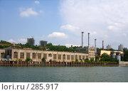 Купить «Ростов на Дону со стороны реки», фото № 285917, снято 3 августа 2007 г. (c) Олег Хархан / Фотобанк Лори