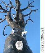 "Купить «Парковая скульптура ""Дерево желаний"" в Петрозаводске», фото № 286021, снято 23 февраля 2007 г. (c) Безрукова Ирина / Фотобанк Лори"