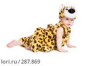 Купить «Малыш 7 месяцев в костюме леопарда», фото № 287869, снято 29 февраля 2008 г. (c) Вадим Пономаренко / Фотобанк Лори