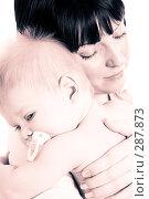 Купить «Мама и грудной ребенок», фото № 287873, снято 29 февраля 2008 г. (c) Вадим Пономаренко / Фотобанк Лори