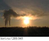 Закат. Стоковое фото, фотограф Иван Черников / Фотобанк Лори
