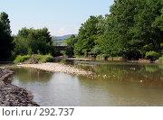 Купить «Пересыхающая горная речка», фото № 292737, снято 4 июля 2007 г. (c) Татьяна Нафикова / Фотобанк Лори