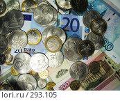 Купить «Денежный фон», фото № 293105, снято 18 мая 2008 г. (c) Павел Филатов / Фотобанк Лори