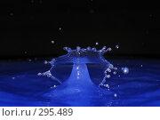 Купить «Падающие капли воды», фото № 295489, снято 11 мая 2008 г. (c) Алексей Ефимов / Фотобанк Лори