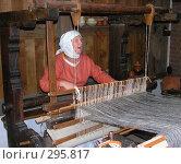 Купить «Пряха», фото № 295817, снято 18 июля 2004 г. (c) Вячеслав Смоленский / Фотобанк Лори