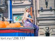 Купить «Карнавал 2008. Русалка. Санкт-Петербург.», эксклюзивное фото № 298117, снято 24 мая 2008 г. (c) Александр Щепин / Фотобанк Лори
