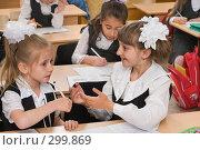 Купить «Первоклассники на уроке», фото № 299869, снято 14 мая 2008 г. (c) Федор Королевский / Фотобанк Лори