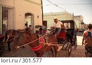 Купить «Кубинский транспорт. г. Тринидад», эксклюзивное фото № 301577, снято 3 июня 2020 г. (c) Free Wind / Фотобанк Лори