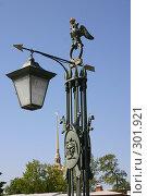 Купить «Санкт-Петербург.Фонарь моста в Петропавловскую крепость.», фото № 301921, снято 28 мая 2008 г. (c) Александр Секретарев / Фотобанк Лори