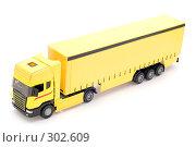 Купить «Желтый грузовик», фото № 302609, снято 27 мая 2008 г. (c) Угоренков Александр / Фотобанк Лори