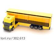 Купить «Желтый грузовик», фото № 302613, снято 27 мая 2008 г. (c) Угоренков Александр / Фотобанк Лори