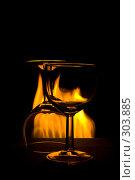 Натюрморт с огнем. Стоковое фото, фотограф Ольга Ковальчук / Фотобанк Лори