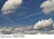 Х в облаках. Стоковое фото, фотограф Александр Иванов / Фотобанк Лори