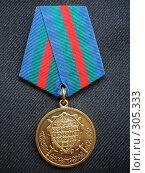"""Купить «Медаль """"За укрепление боевого содружества""""», эксклюзивное фото № 305333, снято 31 августа 2007 г. (c) Free Wind / Фотобанк Лори"""