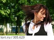 Купить «Ветреная челка...», фото № 305629, снято 29 мая 2008 г. (c) Андрей Аркуша / Фотобанк Лори