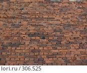Купить «Фон. Стена кирпичная.», фото № 306525, снято 25 мая 2008 г. (c) Илья Телегин / Фотобанк Лори