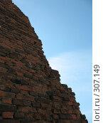 Купить «Задний фон кирпичная стена», фото № 307149, снято 25 мая 2008 г. (c) Илья Телегин / Фотобанк Лори