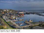 Купить «Порт Корсаков Сахалинской области. HDR», фото № 308349, снято 31 мая 2008 г. (c) Олеся Ефименко / Фотобанк Лори