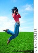 Девушка-фотограф. Стоковое фото, фотограф Анатолий Типляшин / Фотобанк Лори