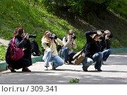 Купить «Фотографы», фото № 309341, снято 31 мая 2008 г. (c) Суханова Елена (Елена Счастливая) / Фотобанк Лори