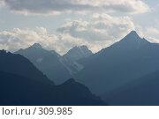 Алтайские горные хребты, фото № 309985, снято 26 сентября 2017 г. (c) Андрей Пашкевич / Фотобанк Лори