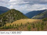 Алтайские горы, фото № 309997, снято 26 сентября 2017 г. (c) Андрей Пашкевич / Фотобанк Лори