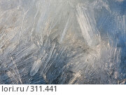 Купить «Кристаллы льда», фото № 311441, снято 20 ноября 2018 г. (c) Алексей Волков / Фотобанк Лори