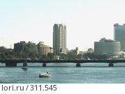 Купить «Каир. Мост через Нил», фото № 311545, снято 4 марта 2008 г. (c) Бондаренко Сергей / Фотобанк Лори