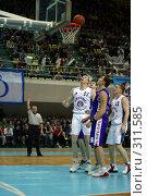 Купить «Баскетбол», фото № 311585, снято 3 мая 2004 г. (c) Морозова Татьяна / Фотобанк Лори